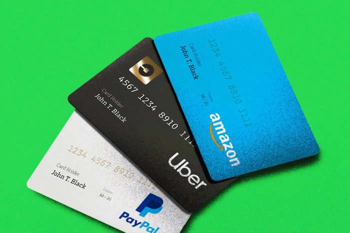 photo of 3 credit cards